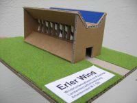 Wintrichterkraftwerk Inntal für landwirtschaftlichen Grund
